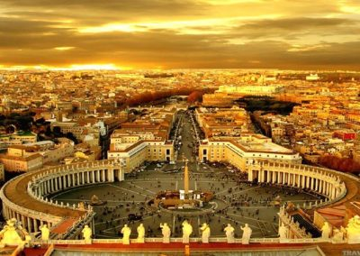Vatican St Peters Rome Italy