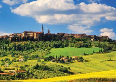 Siena tuscany hill