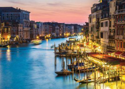 Venice Night Italy canal