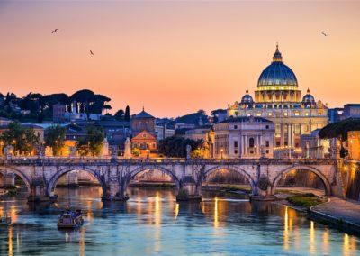 Rome Tevere Italy