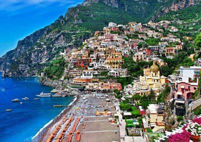 Amalfi Italy beach