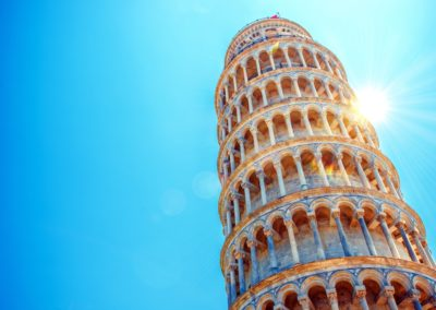 Leaning Tower of Pisa-Tuscany and Florence italy