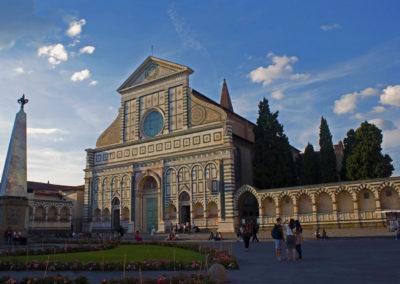 Piazza Santa Maria Novella Florence Italy