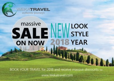 MASSIVE TRAVEL SALES 2018