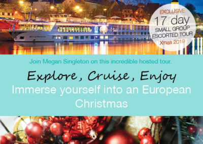 Christmas Market Cruise Europe 2019 – Small Group tour
