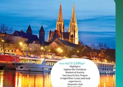 Christmas Market Cruise Europe 2020 – Small Group tour